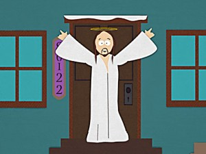 South Park's Jesus Always Lifted My Spirits.