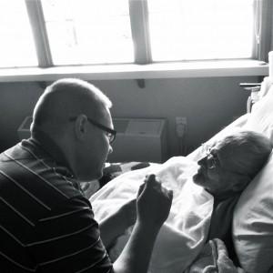 Mr. MVP and Grandma Dee Having a Snack