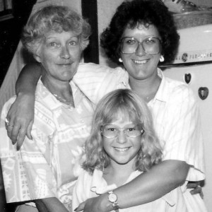 Grandma, Mom and Me