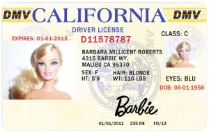 Even Barbie Can Drive. (tumblr.com)