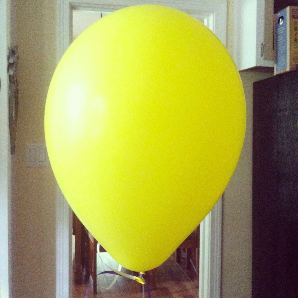 The Yellow Balloon That Made It.