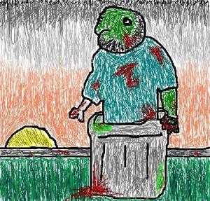 craptaco garbage zombie