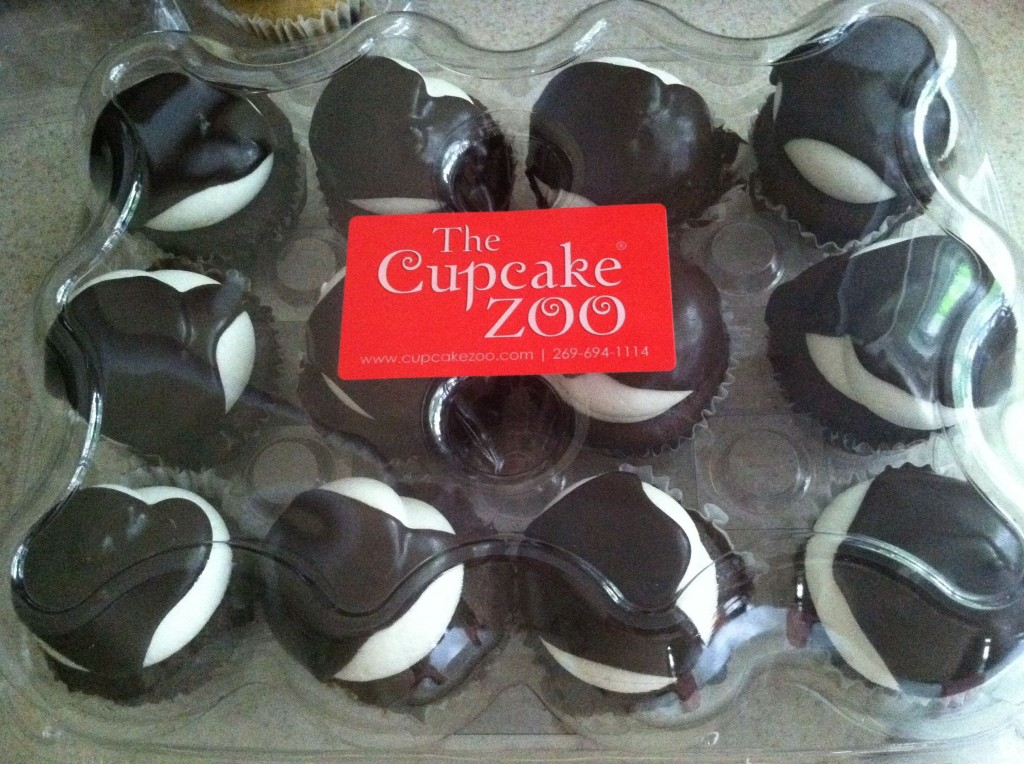 My Birthday Cupcakes.