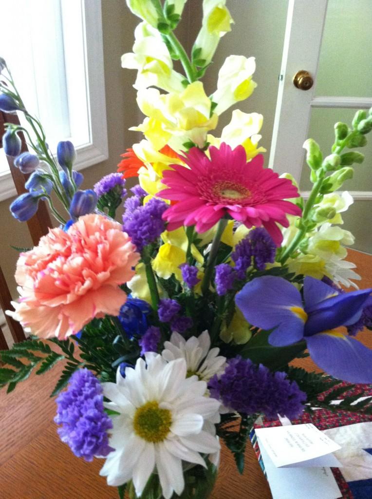 Birthday Week Flower Joy.
