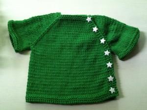 Green Cardigan