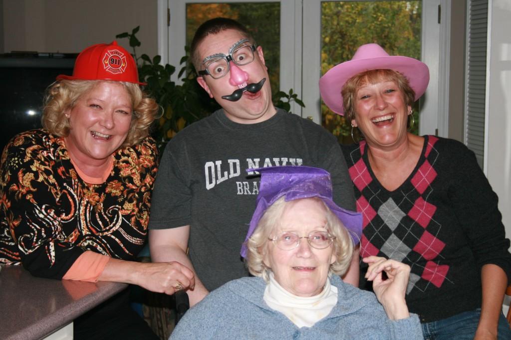 Linda, Mr. MVP, Mom and Grandma Dee