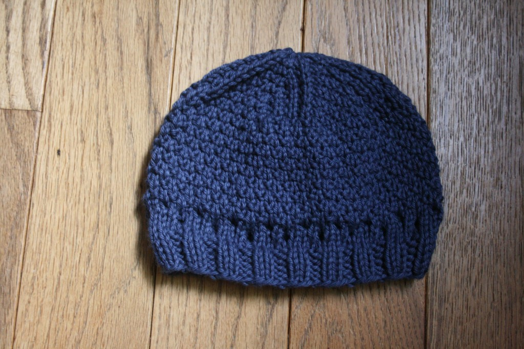 Knitting Patterns By Needle Size : Patterned Hat With Beard - Nicole VanPutten