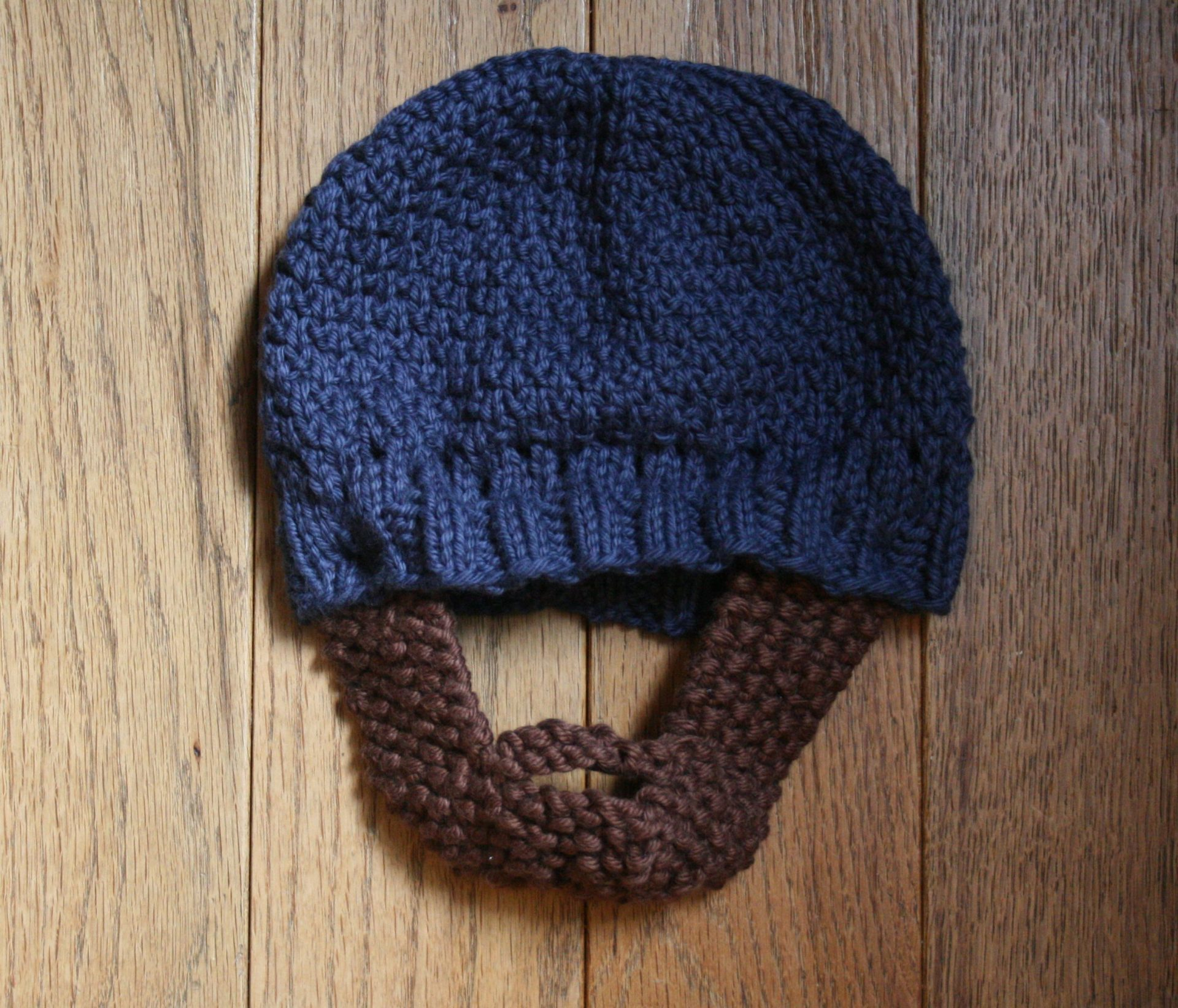 Patterned Hat With Beard - Nicole VanPutten c7b784709e7