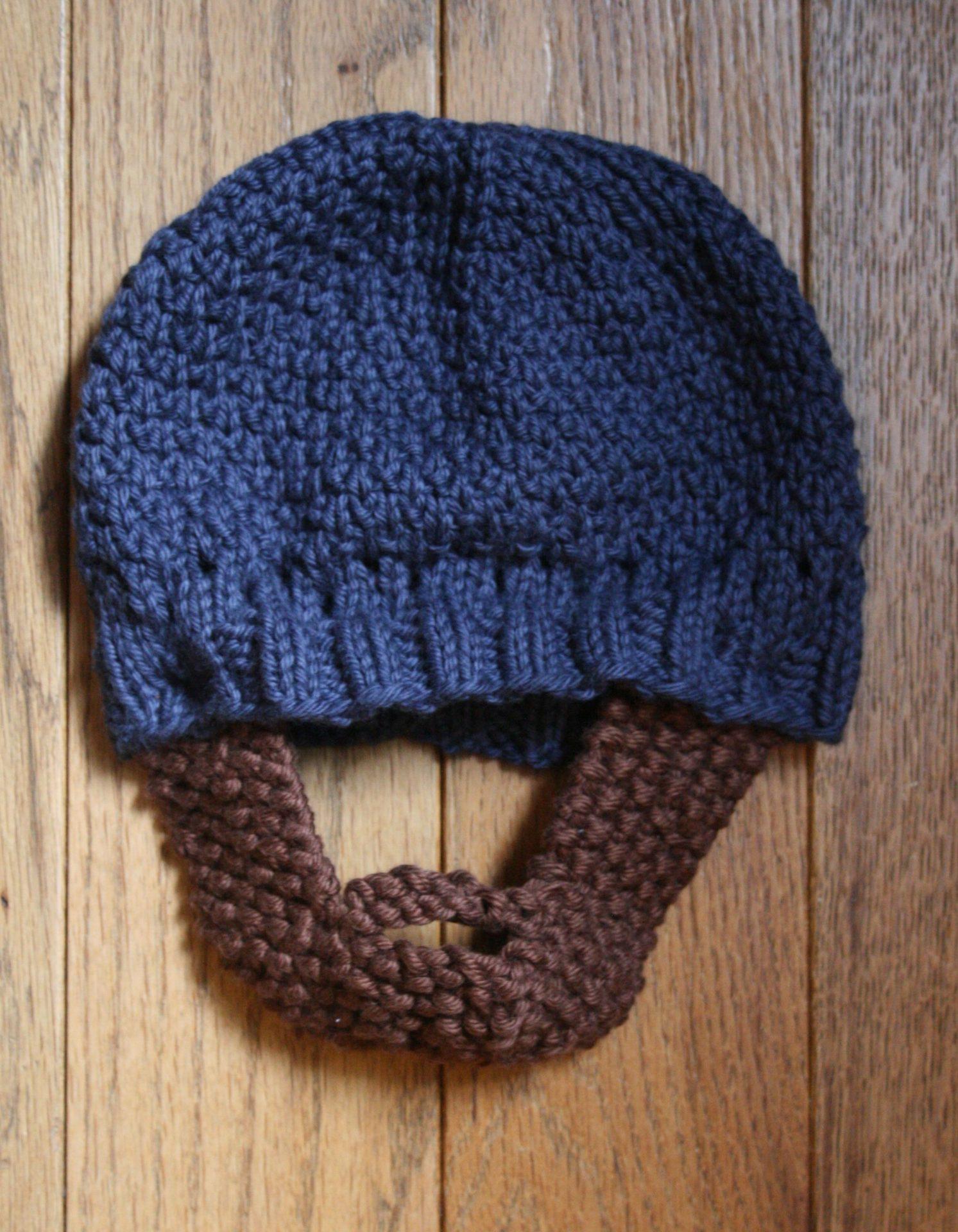 Old Fashioned Knit Beard Pattern Motif - Blanket Knitting Pattern ...