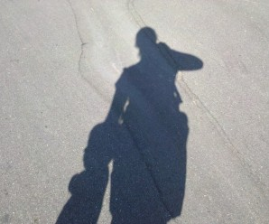 Photo of my shadow.